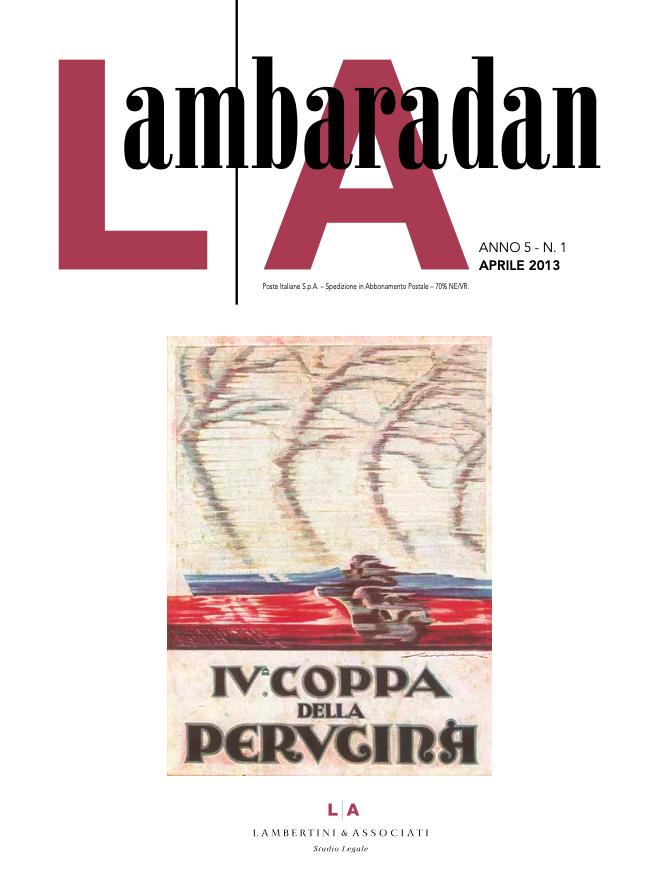 Lambaradan Aprile 2013