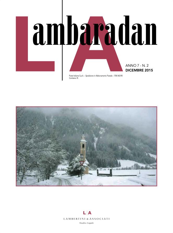 Lambaradan Dicembre 2015