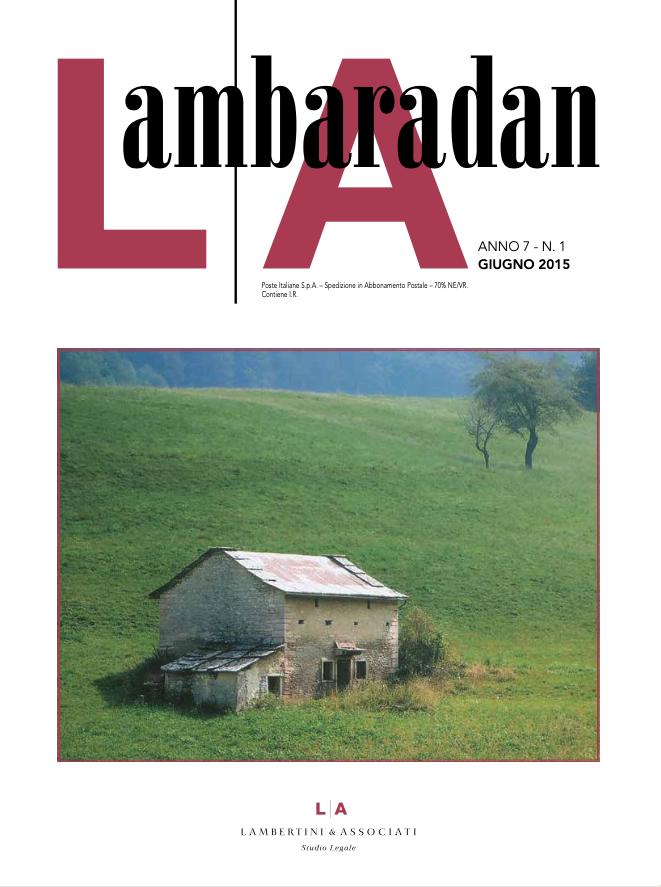 Lambaradan Giugno 2015