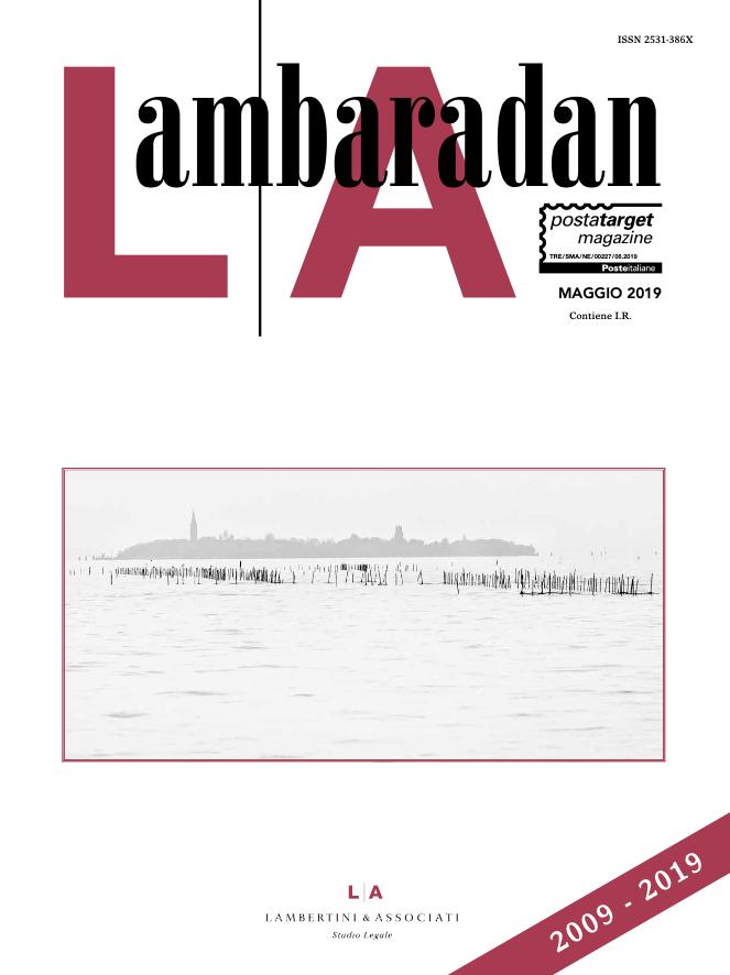 Lambaradan Maggio 2019